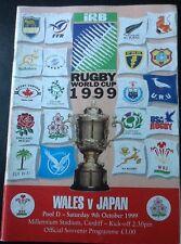 COPPA DEL MONDO DI RUGBY 1999-Galles V JAPAN