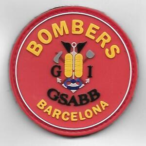 parche BOMBEROS DE BARCELONA BUCEADORES ,spain fire patch