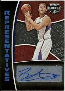 Blake Griffin 2016-17 Totally Certified Representatives Autographs /35 Clippers