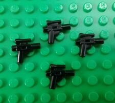 *NEW* Lego Black Star Wars Small Hand Blasters Guns Minifigures Figs - 4 pieces