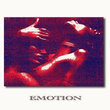 ☆EMOTION☆Leinwandbild zwei nackte Frauen beim Sex Akt erotische Kunst Wandbilder