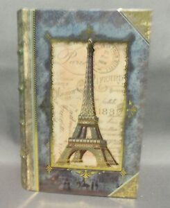 Dollhouse Miniature Small Paris Scenario/Roombox in a Paris themed Book