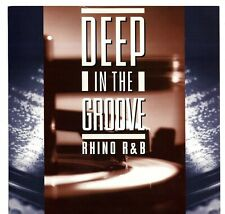 Rhino Records R & B - Deep In The Groove - 2 Sided Promo Poster Flat 12 X 12