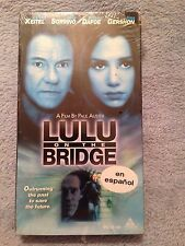 Lulu on the Bridge (1998) - VHS Video Tape - Drama - En Espanol - Mira Sorvino