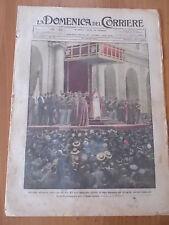 DOMENICA del CORRIERE 35/1925 Udienza Papale, Blessano, Piedigrotta, Varazze