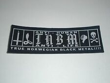 TAAKE ANTI HUMAN ANTI LIFE WOVEN PATCH