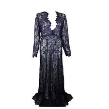 Sexy Women Long Sleeve Evening Summer Party Prom Cocktail Maxi Long Lace Dress