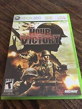 Hour Of Victory Xbox 360 Cib Game Works XG3