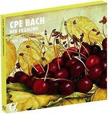 C.P.E. BACH: DER FRHLING NEW CD