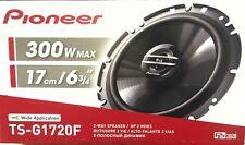 Pioneer 2 HAUT PARLEURS ENCEINTES Car Speakers TS-G1720F 300W 2-Way 17cm Noir