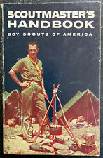 BSA Scoutmasters Handbook, 1970 edition. Small crease back cover, good condition