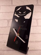 HAPPY HALLOWEEN PLEXIGLASS Desk Clock-DNB - 9