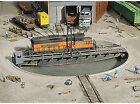 Walthers Cornerstone HO Scale Building/Structure Kit 90 Foot Train Turntable