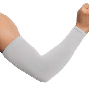 1 Pair Cooling Sport Arm Stretch Sleeves Sun UV Protection Covers Cycling Golf S