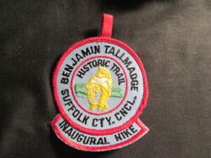 Benjamin Tallmadge National Historic Trail Inaugural Hike Patch     c87
