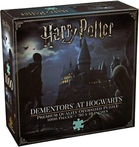 Harry Potter Dementors at Hogwarts 1000pc Jigsaw Puzzle - The Noble Collection