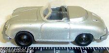 Porsche 356 Cabrio argento metallizzato metallo argentato IMU Euromodell 1:87 H0