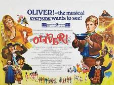 OLIVER Movie POSTER 22x28 Half Sheet B Mark Lester Jack Wild Ron Moody Shani