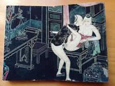 Livre dépliant d'estampes érotiques Chine - Erotica - Leporello