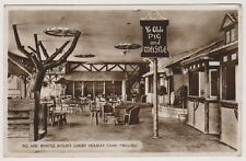 Wales postcard - Pig & Whistle, Butlins Luxury Holiday Camp, Pwllheli - RP (A126