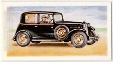 1934 Armstrong Siddeley 17 hp Sports Saloon English Auto Vintage Trade Ad Card