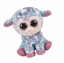 Ty- Flippables Ty36677 Sequin Tulip The Sheep Soft Toy, 15 cm, Multi-Coloured