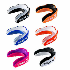 d3 Dual Layer Gel Sports Rugby Boxing Mouthguard Gumshield Youth