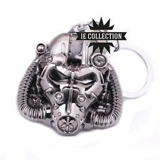 Fallout 4 Helmet Armor Atomica Keyring IN Metal Keychain Power Armor 3 2