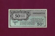 UNITED STATES USA 50 CENTS 1946 P-M4 VF MILITARY PAYMENT CERTIFICATE