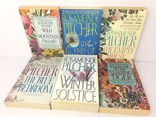Rosamunde Pilcher Books Lot 6 Romance Paperback Winter Solstice End Summer Etch