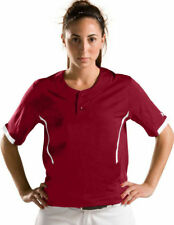 Under Armour Women's Softball Jersey Shirt Ladies Top Sizes XL 2XL Green Maroon