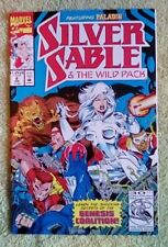 Silver Sable and the Wild Pack #8 (Jan 1993, Marvel) 9.2 NM-