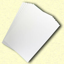20 Sheets Gloss White Cast Coat Card 1/sided A4 Size 300gsm #H7208 #D1