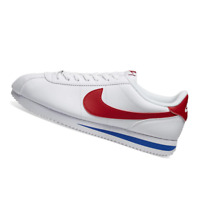 NIKE MENS Shoes Classic Cortez Leather - White, Red & Royal - OW-819719-103