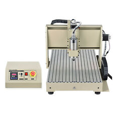 cnc 6040 4axis router 1.5kw DRILLING & MILLING ENGRAVER mill MACHINE Desktop FS
