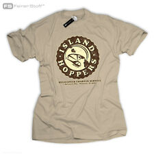 ISLAND HOPPERS Tom TV Selleck Thomas Retro Kult Magnum Fan Kult Hawaii T-Shirt