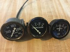 OLD SPEEDSTER PREWAR RACE CAR GAUGE SET HOT RAT ROD SCTA VINTAGE DASH INSTRUMENT