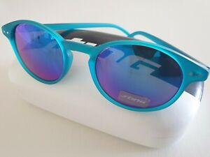 STING Herren & Damen Sonnenbrille SS6515 L52B Blau Azul, Kunststoff, Etui, Neu