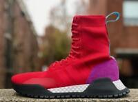 NEW Adidas Originals AF 1.3 PK Primeknit Men's Sneaker Boots Red Purple BZ0611