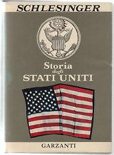 SCHLESINGER-STORIA DEGLI STATI UNITI-GARZANTI 1963-L3618