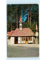 Lake Arrowhead Village Post Office Building Vintage CA California Postcard D45