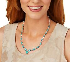 Turquoise Sterling Statement Necklace QVC $760