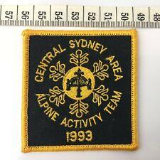 Collectible Vintage Australian Scout Patch / Badge Alpine Activity Team Syd 93