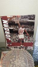 Michael Jordan Poster Starline 1990 Chicago Bulls Dunking ORIGINAL PACKAGING