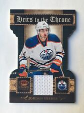 2011-12 Crown Royale Jordan Eberle Heirs To The Throne Jersey #10