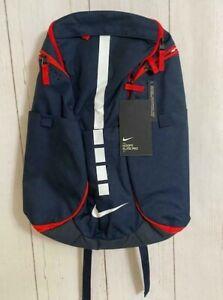 Nike Elite Pro Hoops Basketball Backpack BA5554-414 Navy Blue Red White RARE