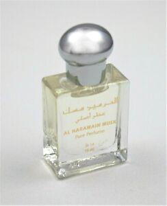 Musk 15ml by Al Haramain - Arabian Perfume Oil/Attar (Rose/Lime/Jasmine/Musk)