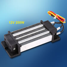 DC12V 200W Electric Ceramic Thermostatic Insulated PTC Heating Element Heater