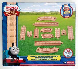 Thomas und seine Freunde Schienen und Kurven Set Holzeisenbahn NEU