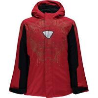Spyder Kids Boys Marvel Hooded Jacket, Ski Snowboard Winter Jacket, Size L, NWT